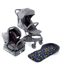 Kit-Travel-System---Skill---Grey-Denim-e-Almofada---SafeComfort---Space---Black---Safety-1St
