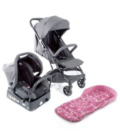 Kit-Travel-System---Skill---Grey-Denim-e-Almofada---SafeComfort---Unicornio---Pink---Safety-1St