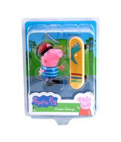 Mini-Figura-e-Acessorios---Peppa-S1-e-S2---Peppa-Pig---Skatista---Sunny_Frente