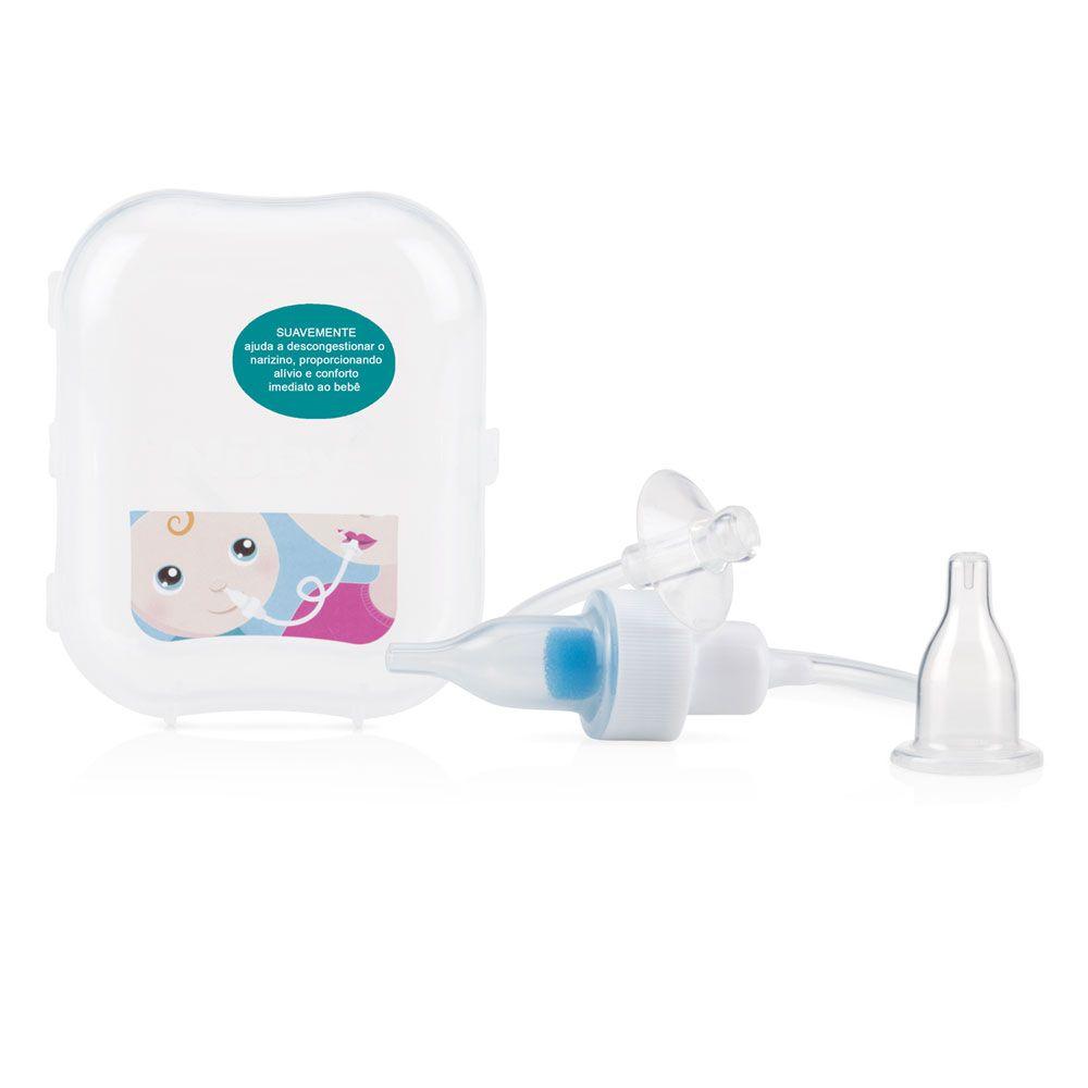 Aspirador nasal Nuby com filtro e estojo