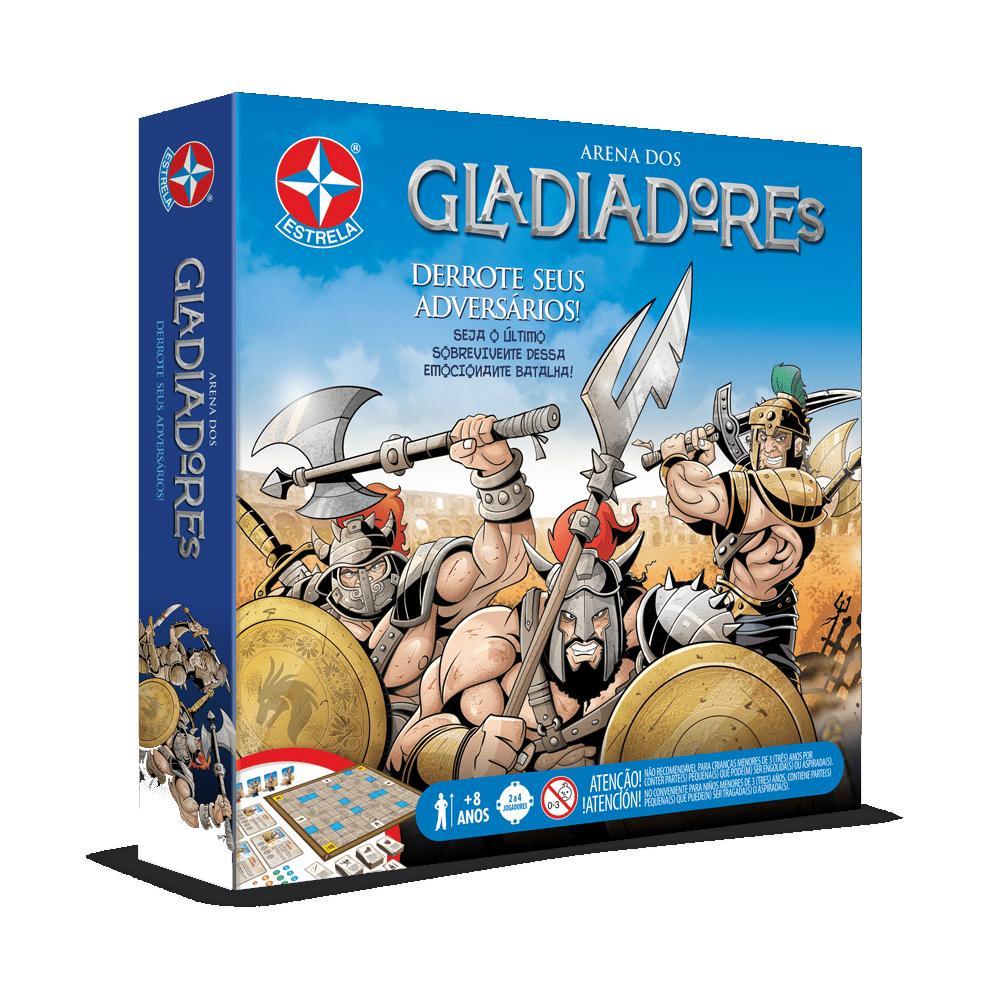 Jogo de Estratégia Estrela Arena dos Gladiadores 8+