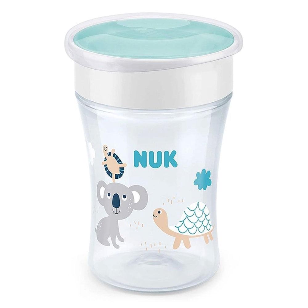 Copo Antivazamento 360° - Magic Cup - 230 ml - Transparente - Boys - Nuk