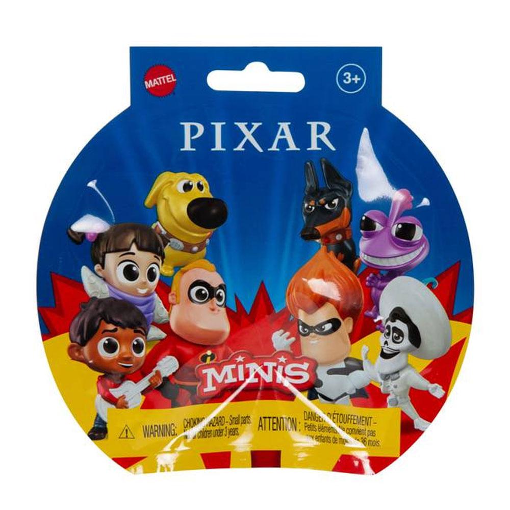 Mini Figuras Sortidas - Disney - Pixar - Minis - Mattel