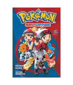 Livro-Infantil---Pokemon---Pokemon-Ruby-e-Sapphire---Volume-2---Panini_Frente