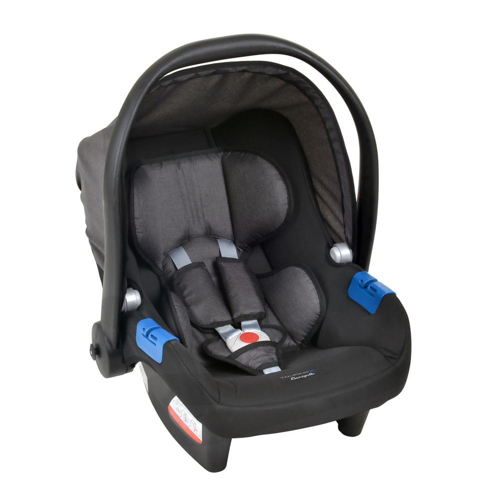 Bebê Conforto - Burigotto -  Touring X - De 0 a 13 Kg - Cinza