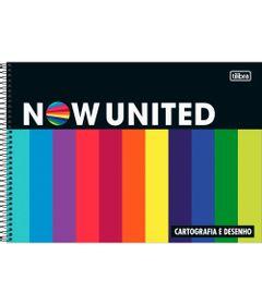 Caderno-Espiral---Capa-Dura---Cartografia-Sem-Seda---Preto---80-Folhas---Now-United---Tilibra-0