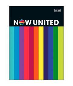 Caderno-Brochura---Capa-Dura-Universitario---Colorido---80-Folhas---Now-United---Tilibra-0