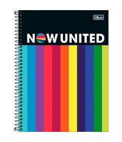 Caderno-Espiral---Capa-Dura-Universitario---Colorido---160-Folhas---Now-United---Tilibra-0
