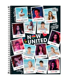 Caderno-Espiral---Capa-Dura-1-4---Personagens---80-Folhas---Now-United---Tilibra-0