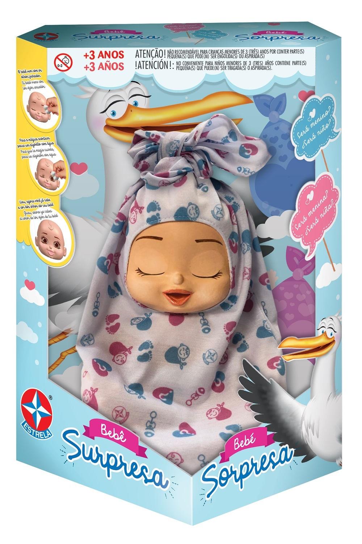 Boneca Bebê - Bebê Surpresa - Estrela