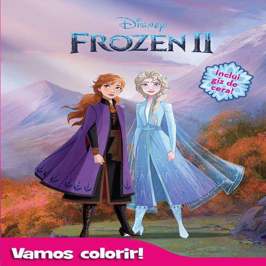 Disney---Frozen---Anna---Elsa---Arendelle---Olaf---Colorir---Gizes---Cera---D2521--0