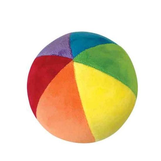 Bola Plush Macia e Colorida com Chocalho - Buba