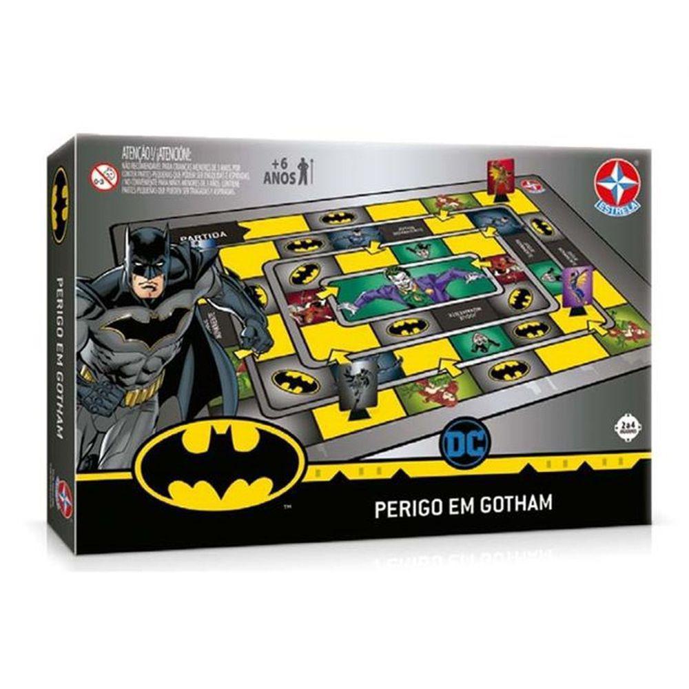 Jogo Batman Perigo em Gotham CITY Estrela
