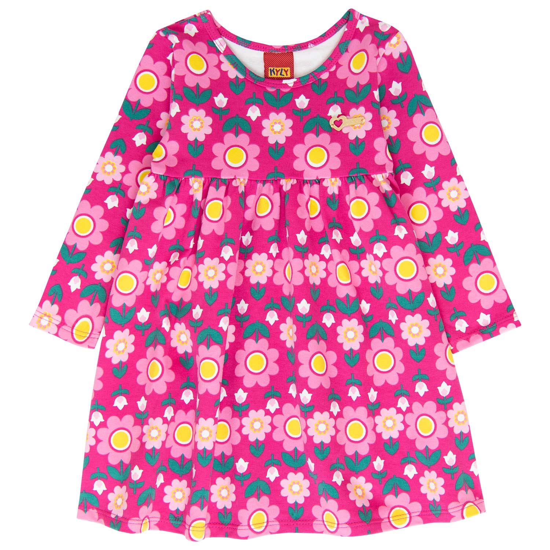 Vestido Infantil Kyly Molicotton