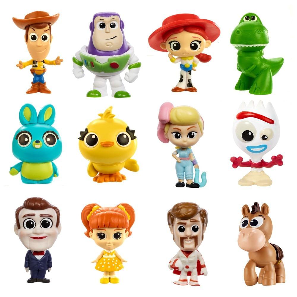 Mini Figura Surpresa - 8 Cm - Disney - Pixar - Toy Story 4 - Mattel