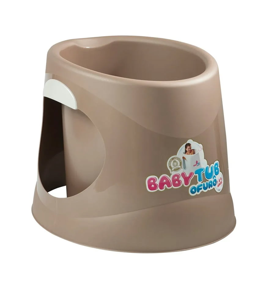Banheira Babytub Ofurô 1 a 6 Anos Dourado - Baby Tub