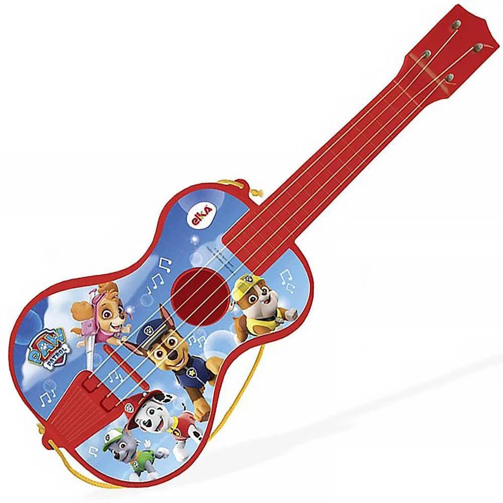 Brinquedo Musical - Violão - Patrulha Canina - Vermelho - Elka