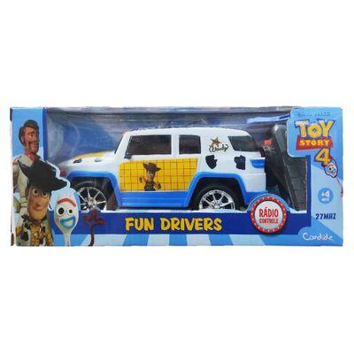 Oferta Veículo De Controle Remoto - Fun Driver - Disney - Toy Story - Woody - Candide por R$ 53.99