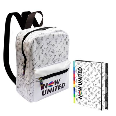 Kit-Escolar-com-Mochila-e-Caderno-Argolado---48-Folhas---Now-United---Branco---DAC