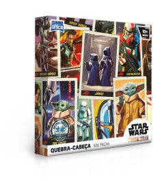 Quebra-Cabeca---500-Pecas---Star-Wars---The-Mandalorian---Toyster-0