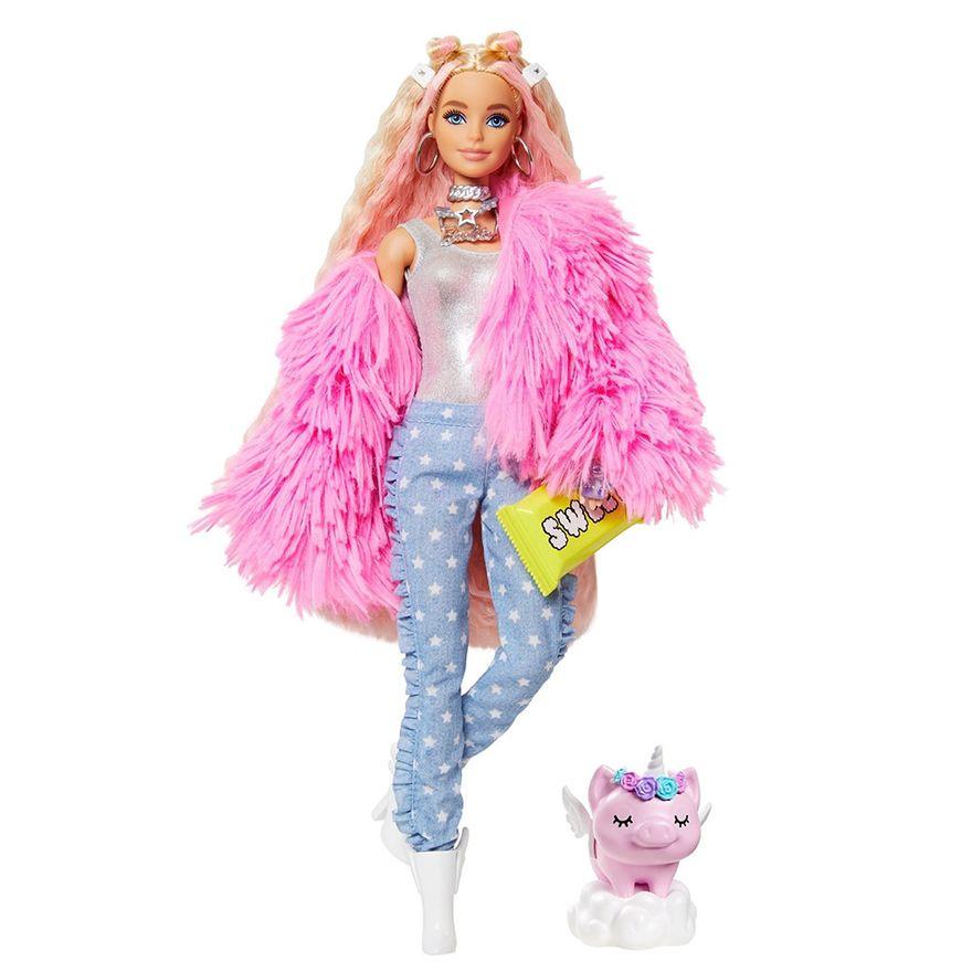 Boneca-Barbie---Extra---Jaqueta-Felpuda-Rosa---Mattel-0