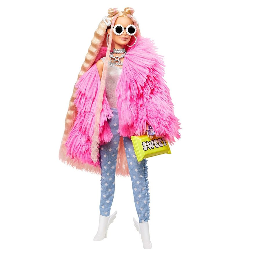 Boneca-Barbie---Extra---Jaqueta-Felpuda-Rosa---Mattel-1