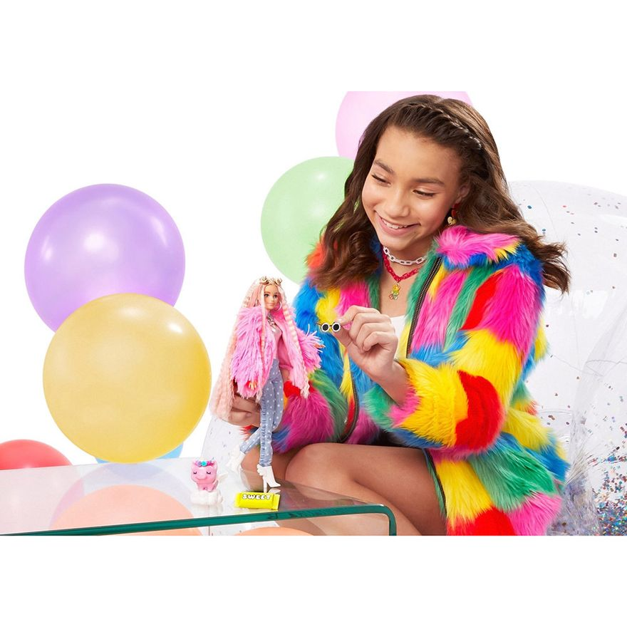 Boneca-Barbie---Extra---Jaqueta-Felpuda-Rosa---Mattel-4