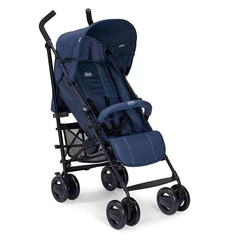Carrinho de Bebê Passeio Chicco London Up Blue Passion Azul