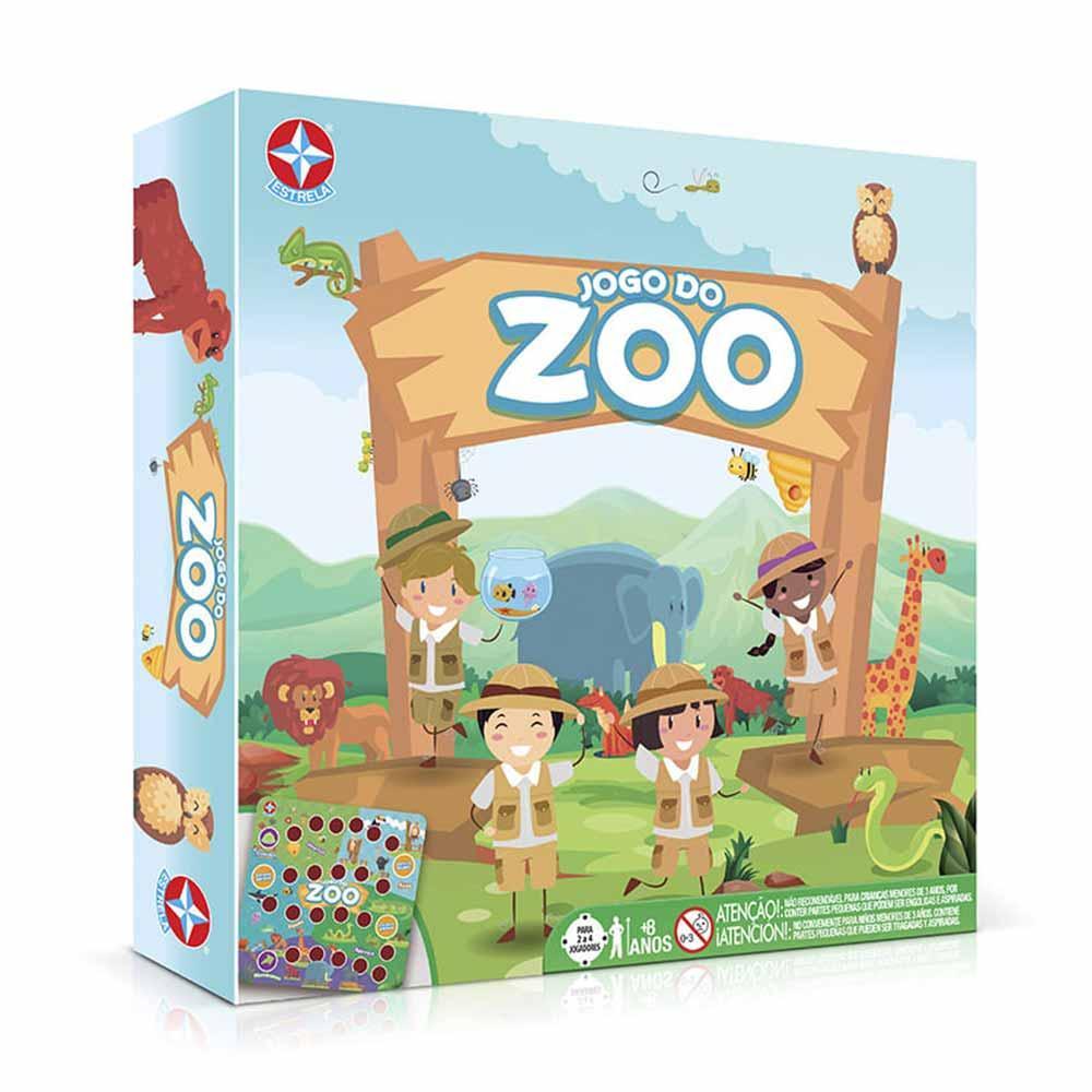 Jogo de Tabuleiro Educativo - Jogo do Zoo - Estrela