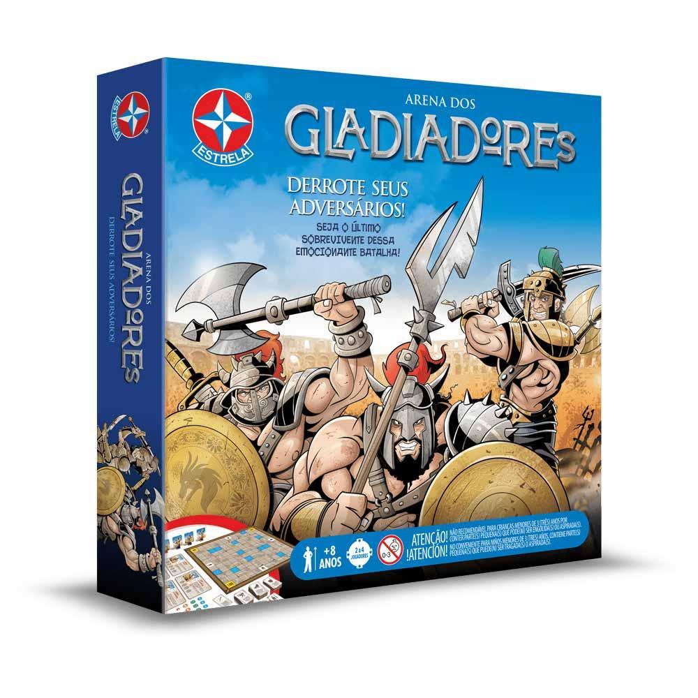 Jogo de Tabuleiro - Arena dos Gladiadores - Estrela