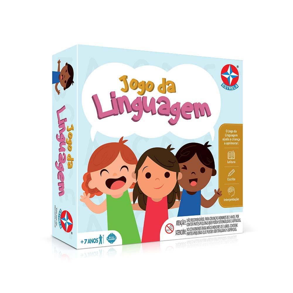 Jogo de Tabuleiro Educativo - Jogo da Linguagem - Estrela