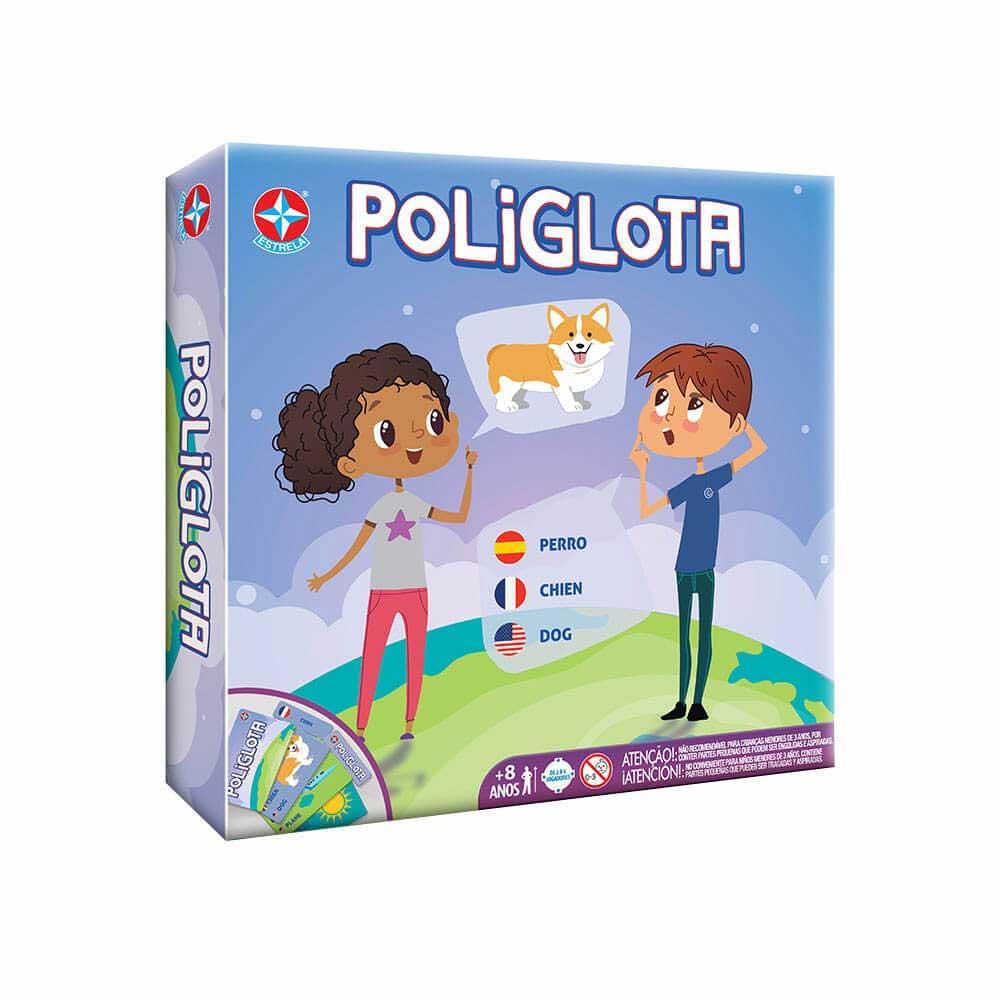 Jogo Educativo - Poliglota - Estrela