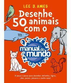 Livro---Desenhe-50-Animais---Manual-do-Mundo---Catavento-0
