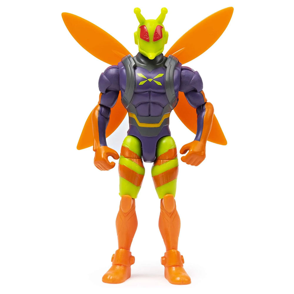 Mini Figura Articulada com Acessórios Surpresa - 9 Cm - DC Comics - Killer Moth - Sunny