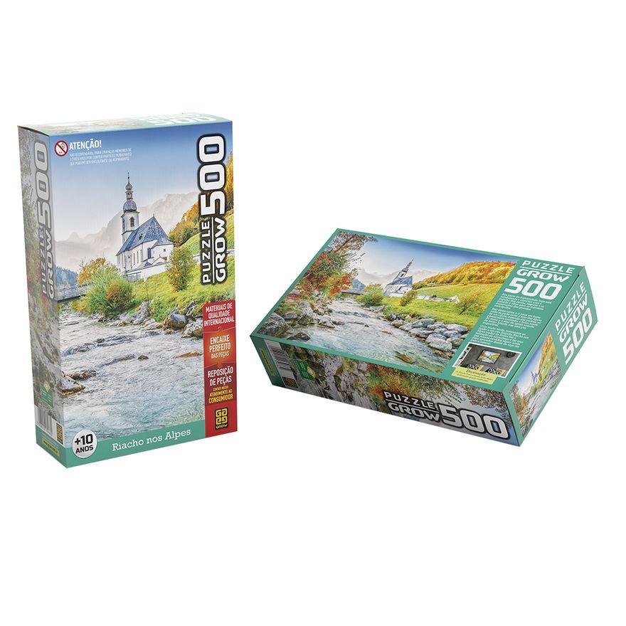Quebra-Cabeca---Riacho-Nos-Alpes---500-Pecas---Grow-1