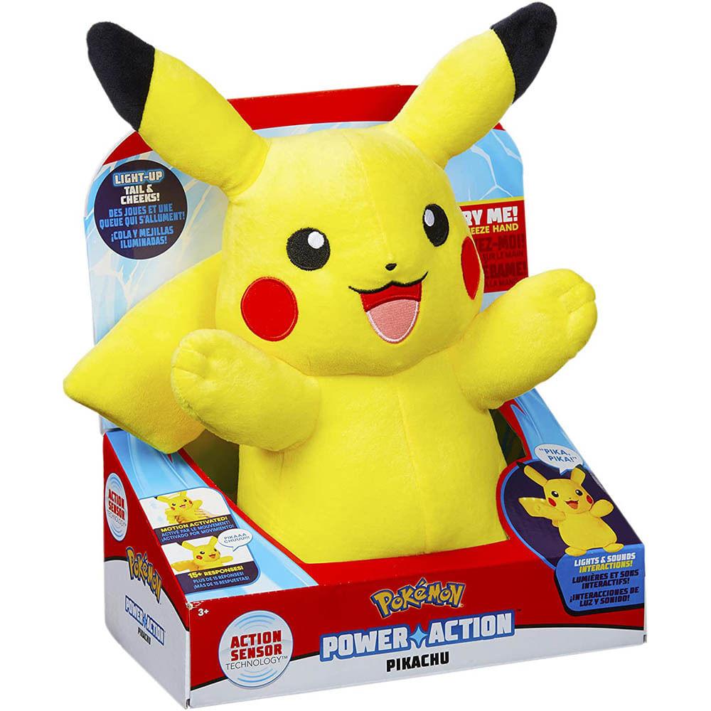 Oferta Pelúcia Com Luzes e Sons - 20Cm - Pokémon - Pikachu - Sunny por R$ 369.99