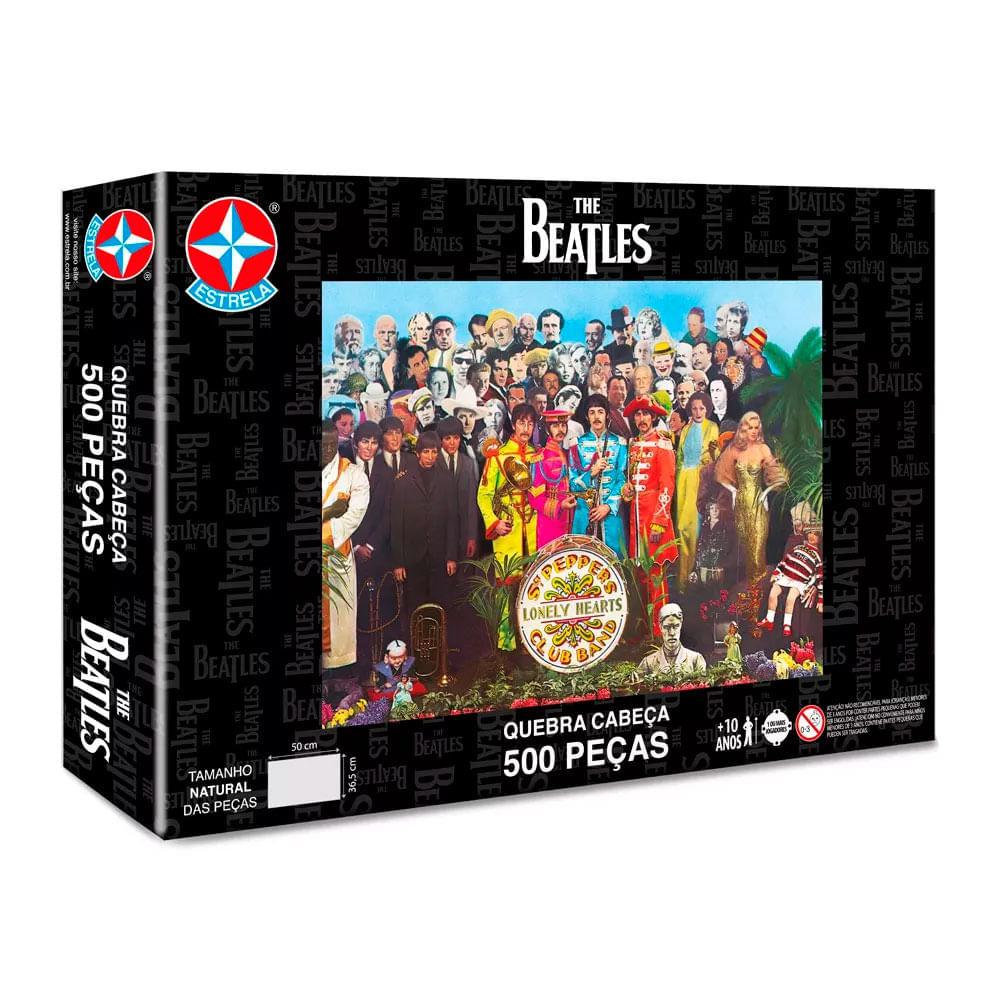 Quebra Cabeça The Beatles 500 peças - Estrela