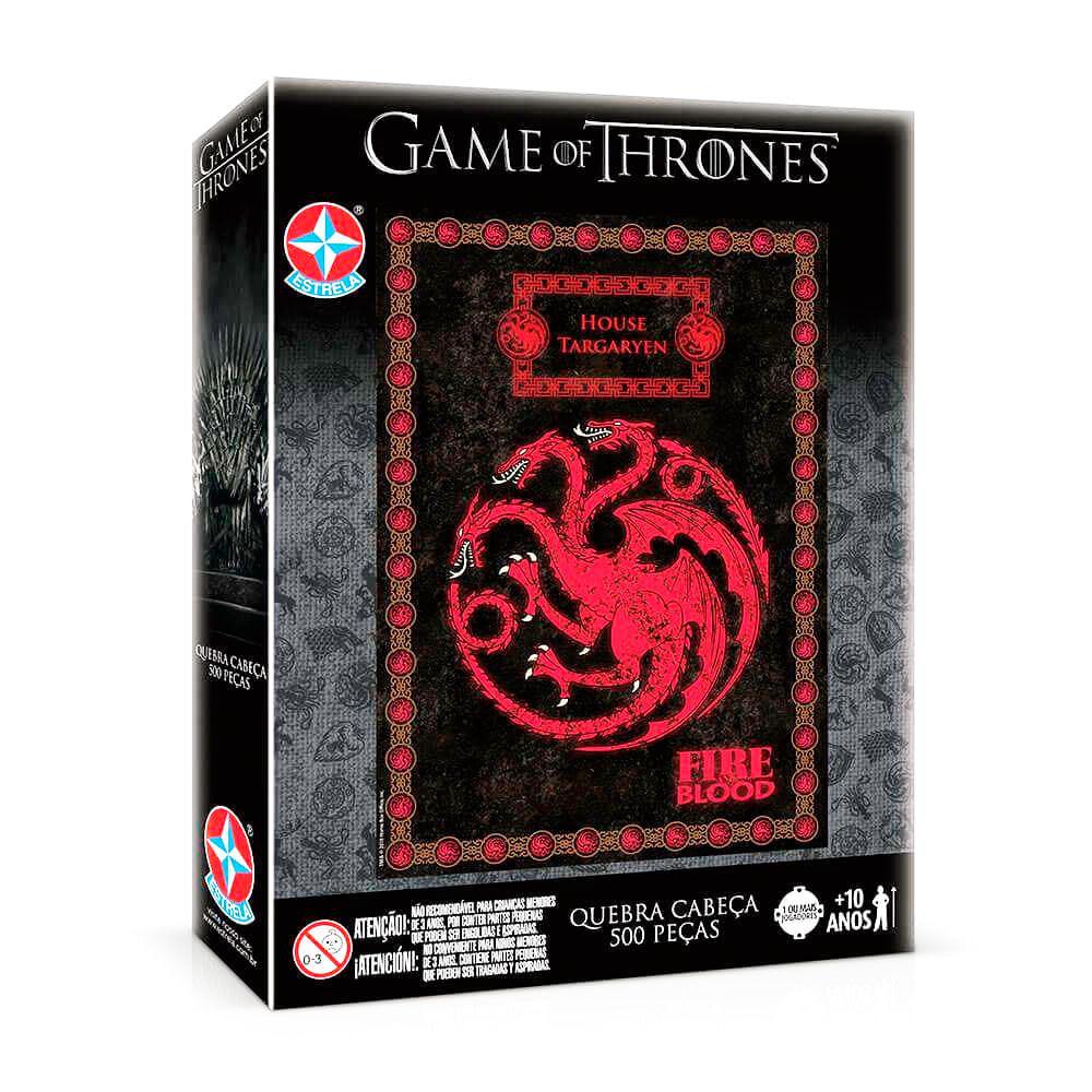 Quebra-Cabeça Game of Thrones Targaryen 500 peças - Estrela