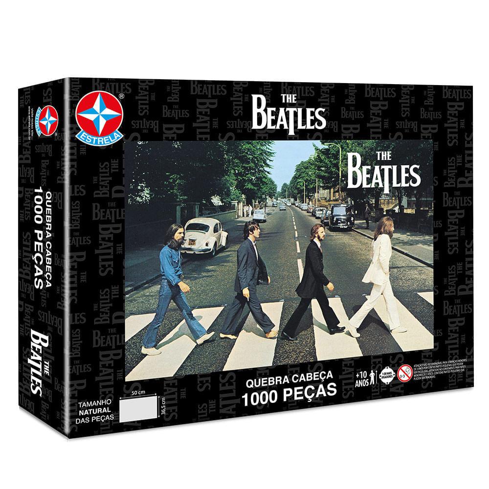 Quebra Cabeça The Beatles 1000 Peças - Estrela