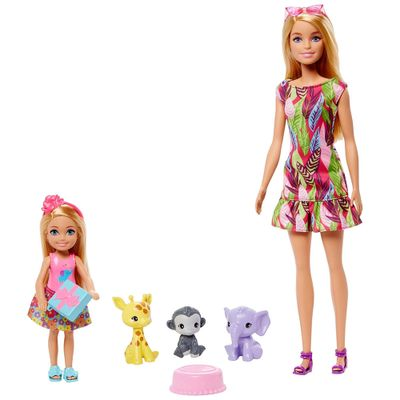 Barbie---Dreamhouse-Adventures---Chelsea-e-Animais-da-Selva---Mattel-0