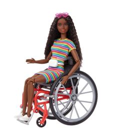 Barbie-Fashionista---Cadeirante-Negra---Mattel-0