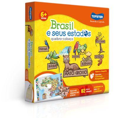 Quebra-Cabeca---82-Pecas---Brasil-e-Seus-Estados---Toyster-0
