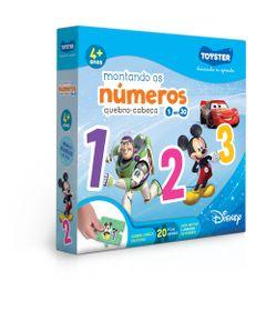Quebra-Cabeca---20-Pecas---Disney---Montando-os-Numeros---Toyster-0