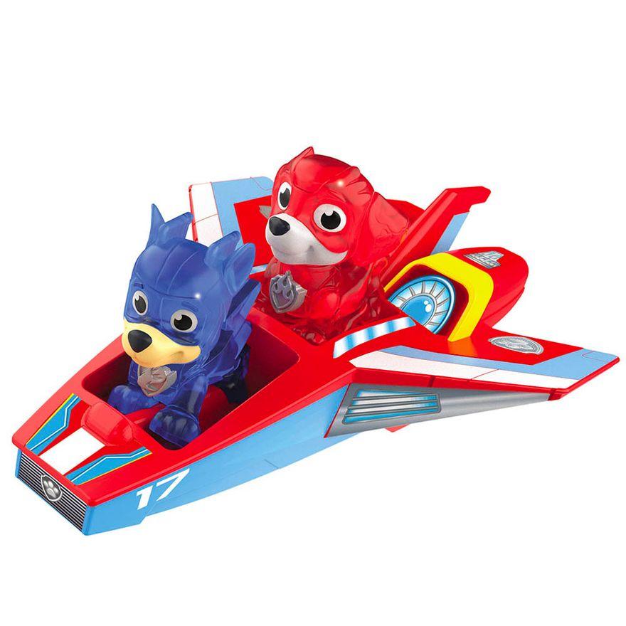 Playset---Patrulha-Canina---Mini-Jet---Chase-e-Marshall---Sunny-0