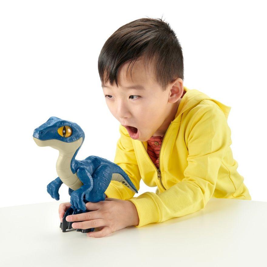 Imaginext-Jurassic-World---Figura-de-Acao-XL---Raptor---Mattel-1