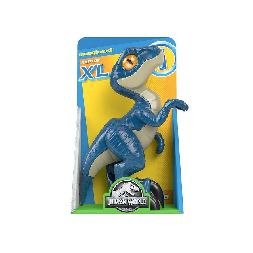 Imaginext-Jurassic-World---Figura-de-Acao-XL---Raptor---Mattel-5