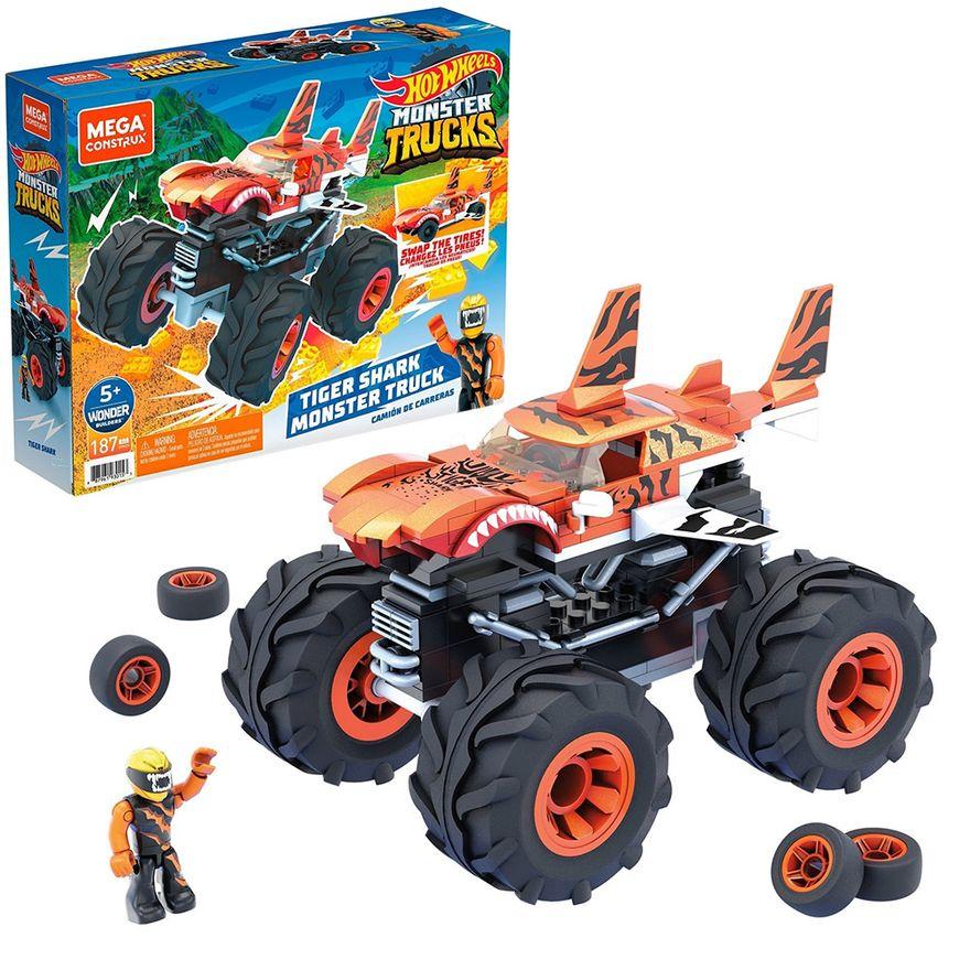 Mega-Construx---Hot-Wheels---Monster-Trucks---Tiger-Shark---Mattel-1