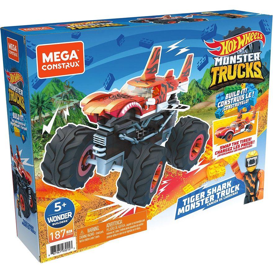 Mega-Construx---Hot-Wheels---Monster-Trucks---Tiger-Shark---Mattel-2