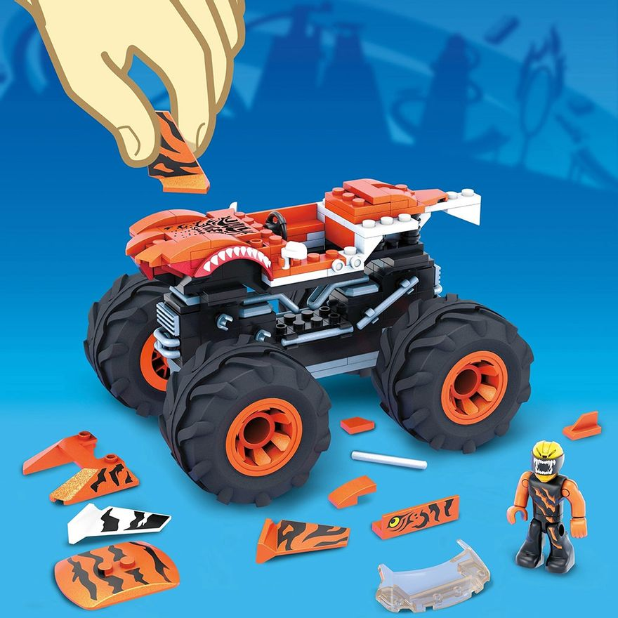 Mega-Construx---Hot-Wheels---Monster-Trucks---Tiger-Shark---Mattel-4