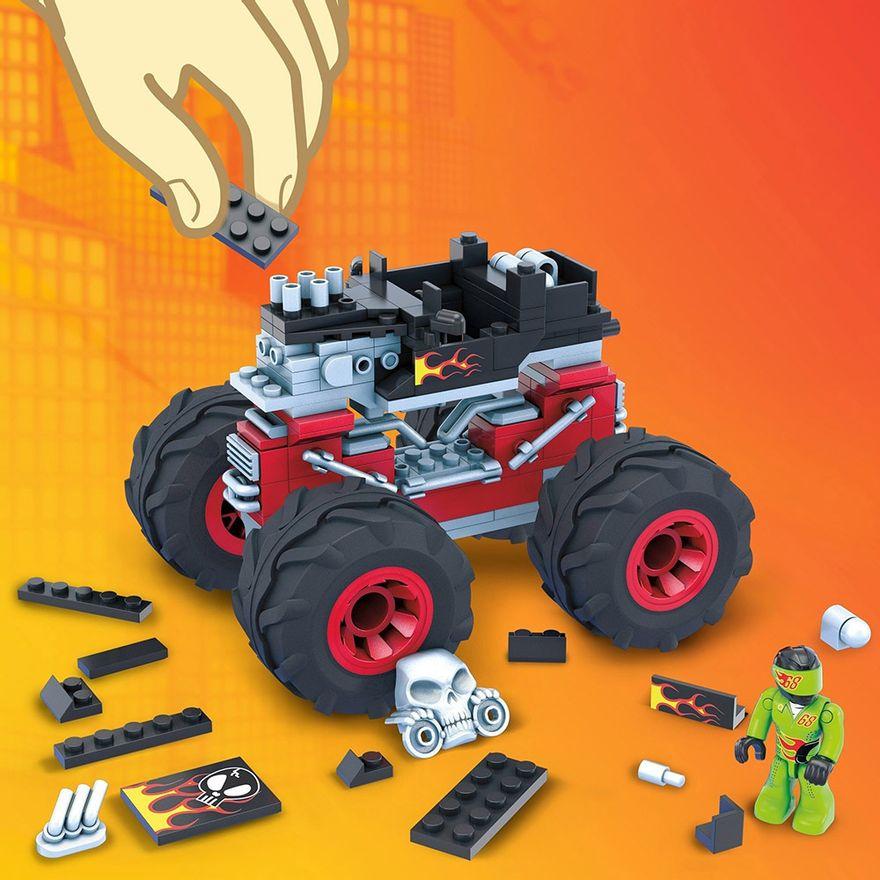 Mega-Construx---Hot-Wheels---Monster-Trucks---Bone-Shaker---Mattel-4